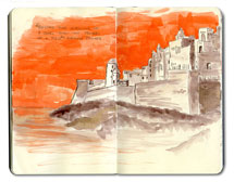 Morocco Sketchbook