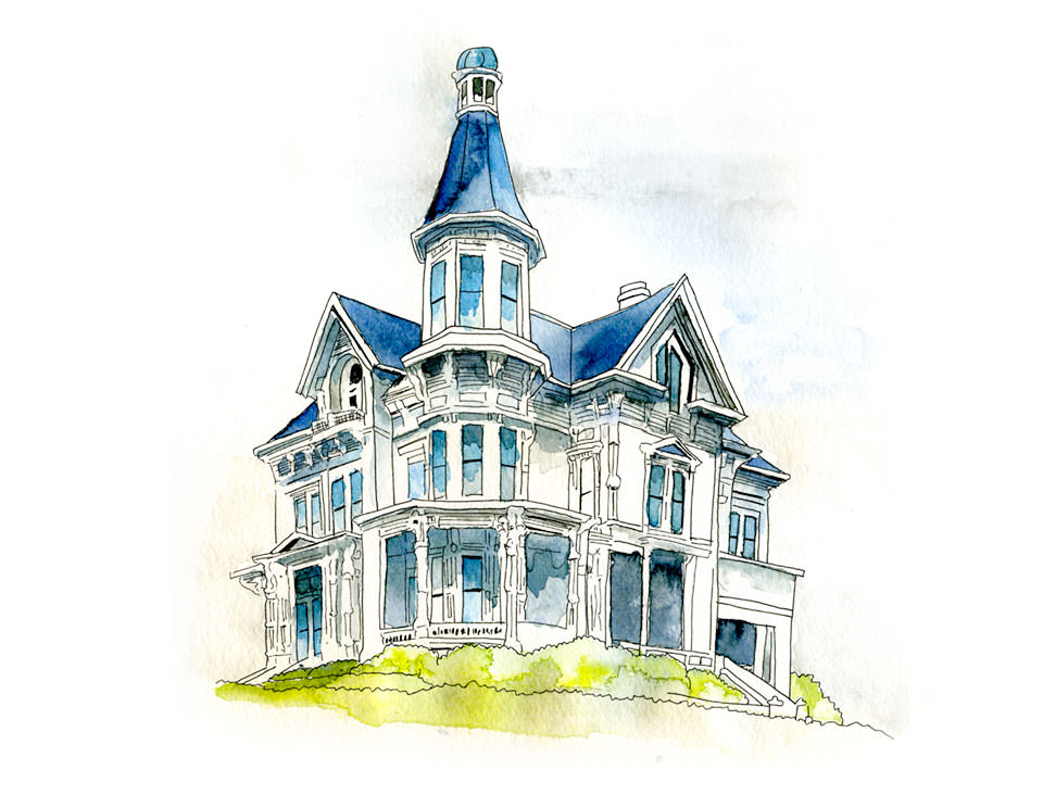 Home in Astoria, Oregon