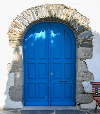 Blue Door in Essaouira