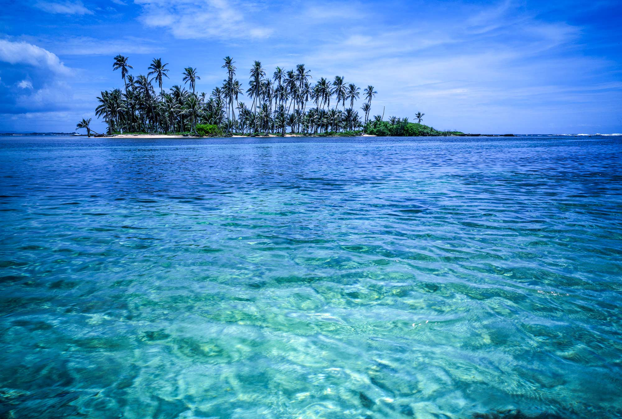 Beautiful landscape of San Blas Islands