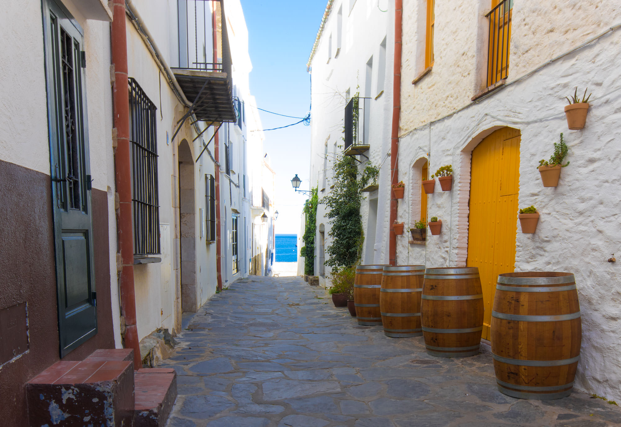 Cadaques, and the Mediterranean