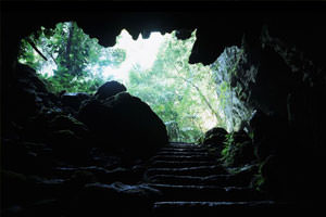 Cave in Belize