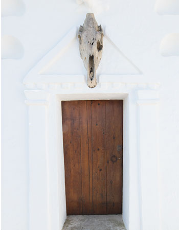 Wood Door in Port Lligat