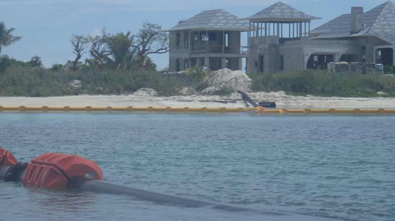 Dredging at Bakers Bay