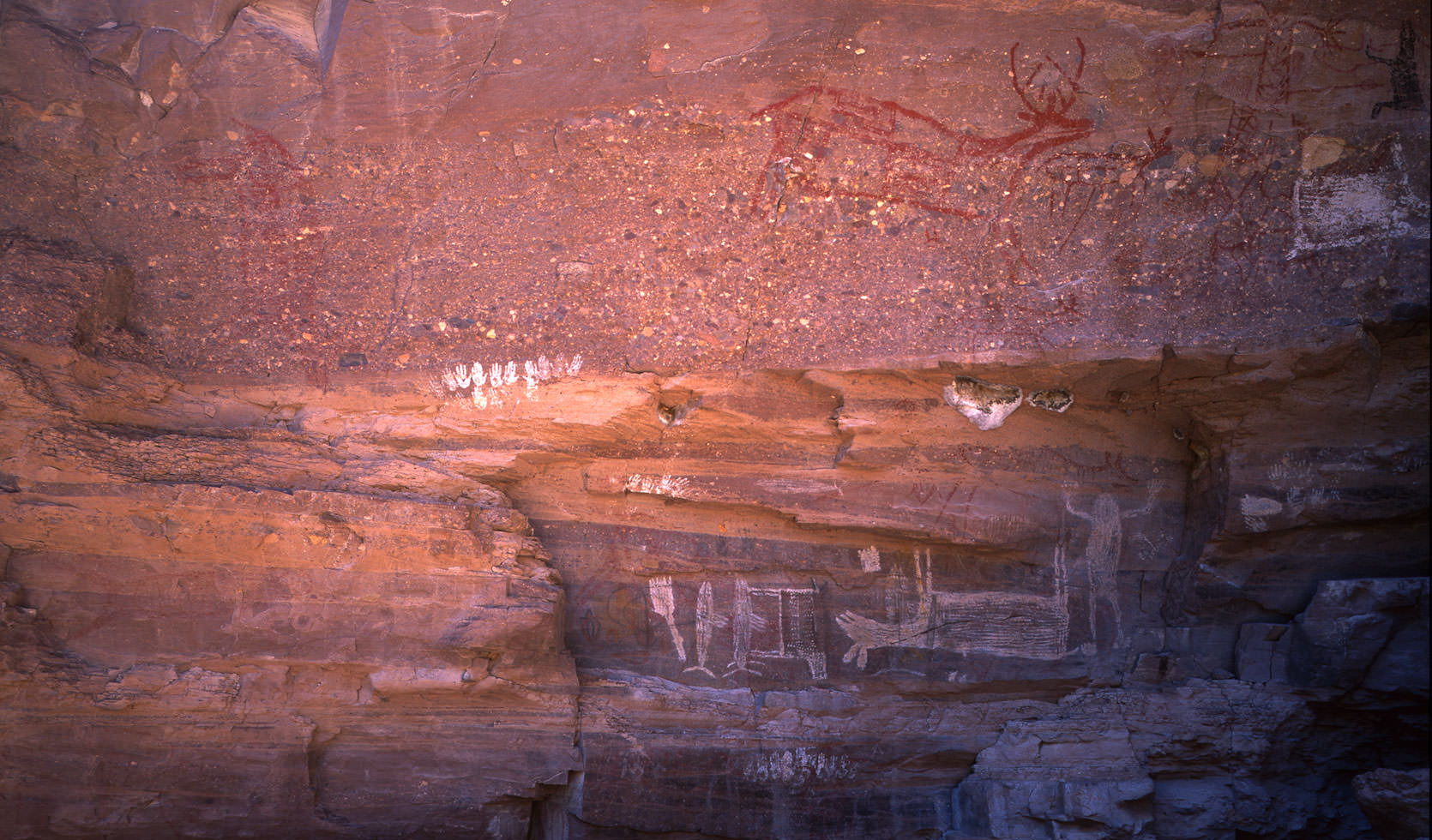 Native American Pictographs in Baja California Sur