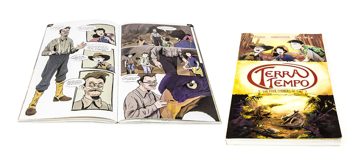 The Four Corners of Time Graphic Novel