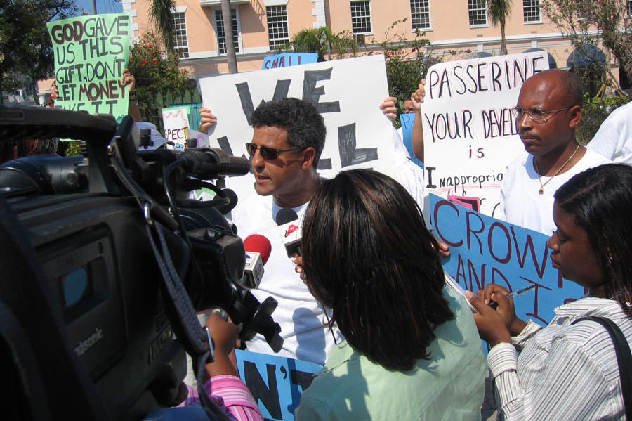 Save Guana Cay Reef Attorney Fred Smith