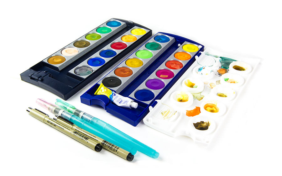Gouache Travel Set