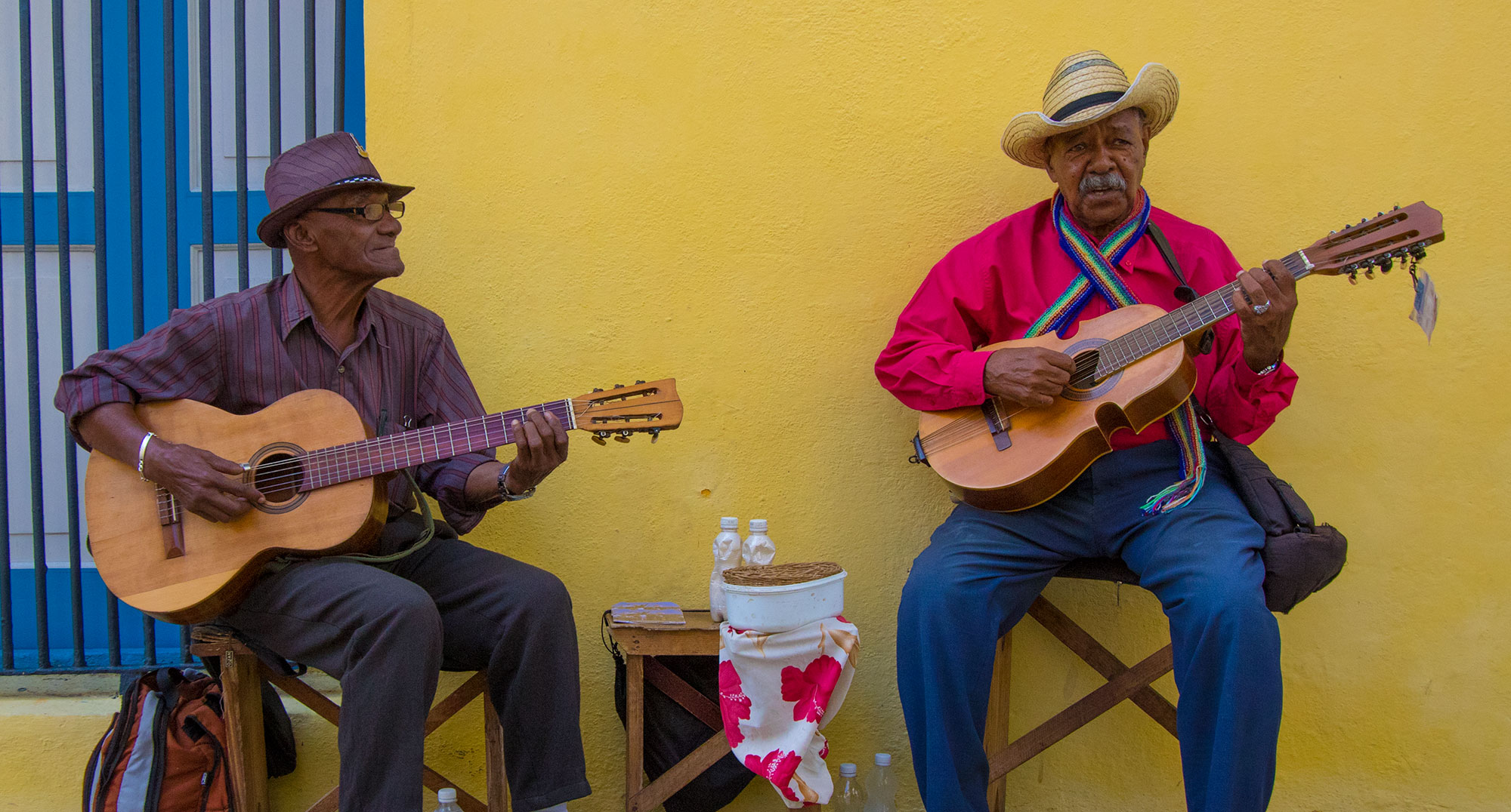 Playing Cuban Music in Habana Vieja