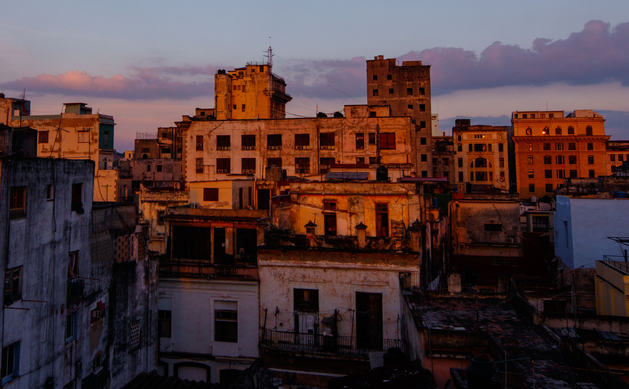 Rooftop view of Habana Vieja