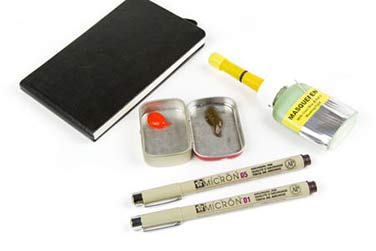Travel Sketch Supplies