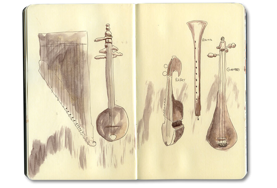 Marrakech Journal: Moroccan Instruments