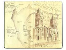 Moleskine Sketch Journal of Ecuador