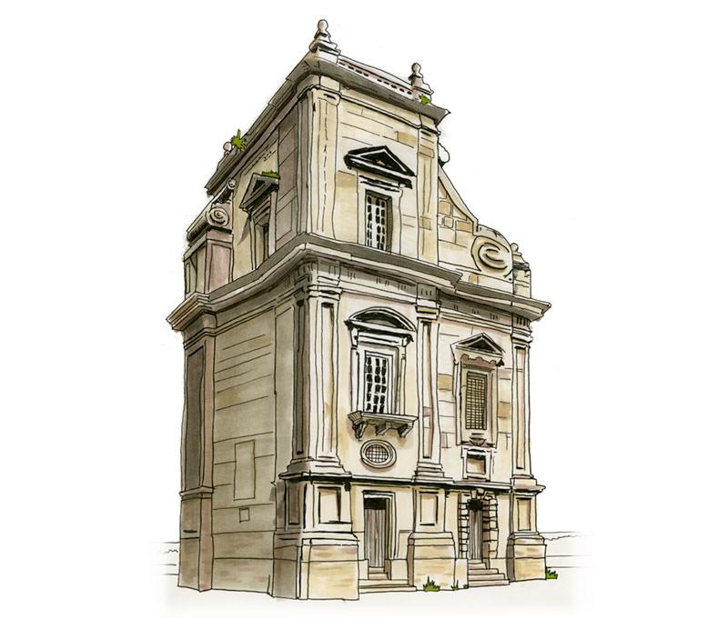 Porta Felice Sketch