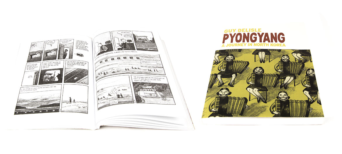 Guy Delisle's Pyongyang Graphic Novel