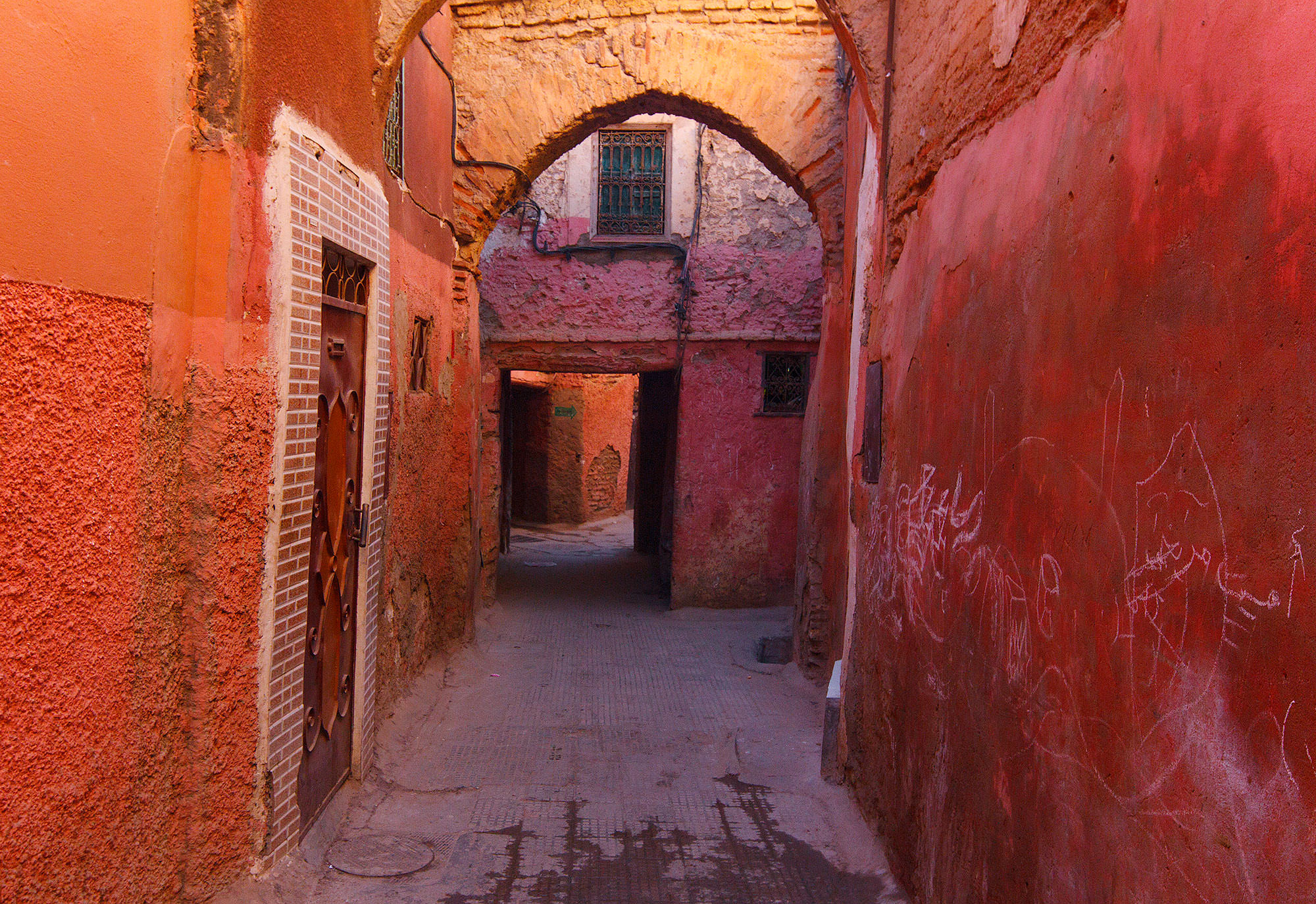 Arches and Alleys in Marrakech