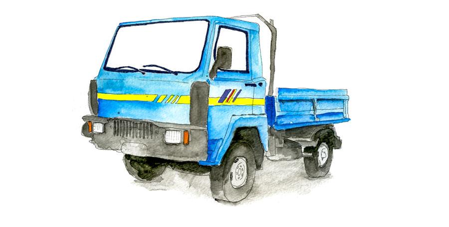 Sicily Work truck