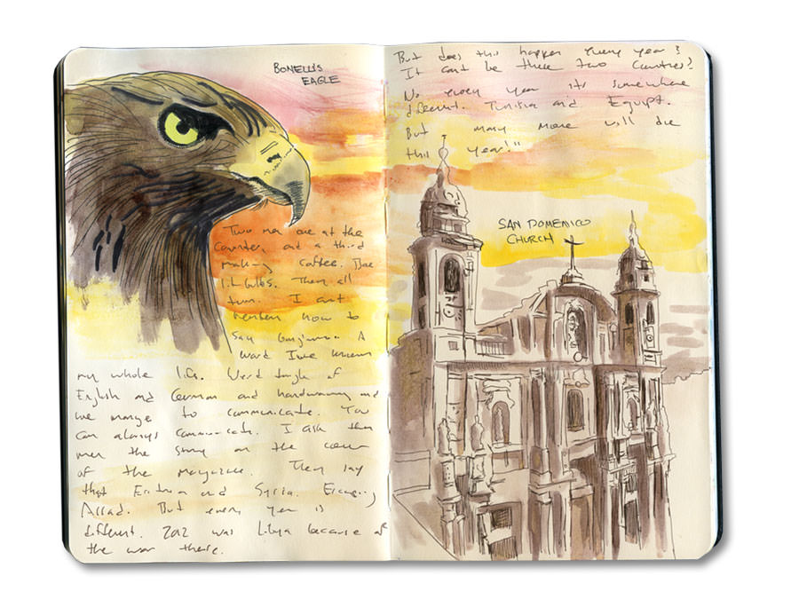 Notebook from Sicily