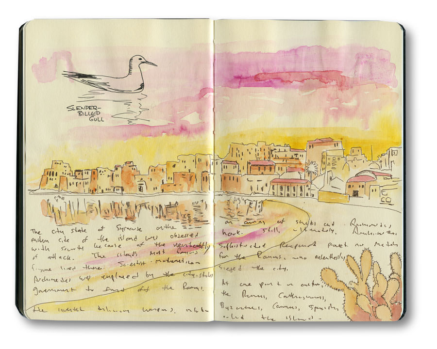 Drawings from Sicily