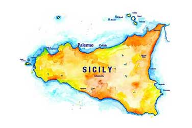 Sicily Moleskine Sketch Journal