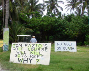 Tom Fazio's Golf Course Kills Reef
