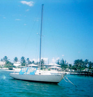 Save Guana Cay Sailboat