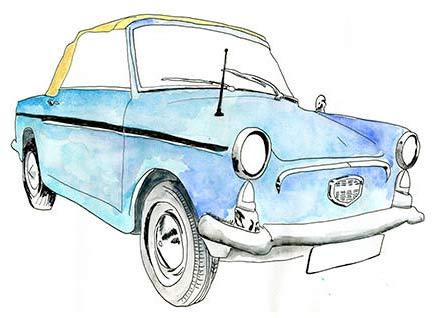 Autobianchi Car from the 1960s