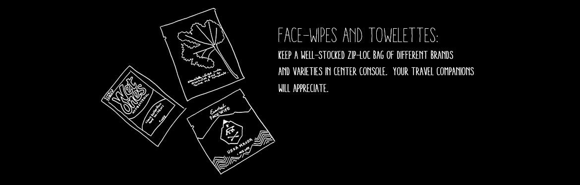 Travel Face Wipes