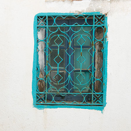 Turquoise Window in Cadaques