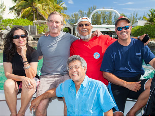 Waterkeeper Joins Bahamian Groups
